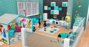 my sims 4 blog toddler playroom by pqsim4