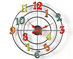horloge murale cuisine originale pendule cuisine originale horloge murale originale pendules dans