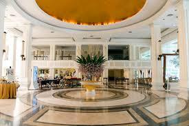 Luxury Lobby Design - modern luxury lobby interior in hotel dusit thani editorial stock