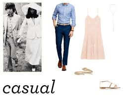 what to wear to a casual wedding wedding attire casual the nouveau romantics1 jpg