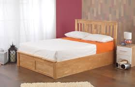 Wooden Ottoman Bed Frame Sweet Dreams Coliseum Oak Wooden Ottoman Bed Frame Bedworld At