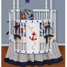 round crib bedding