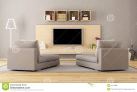 living room with tv royalty free stock photos image 31726888