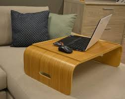 lighted laptop desk tray laptop desk etsy