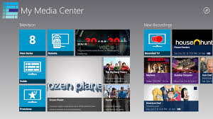 ceton companion on windows 8 and renamed to my media center the