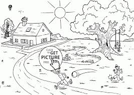 coloring pages garden summer garden coloring page for kids