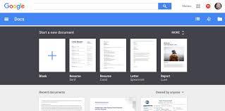 google makes using google docs templates easier than ever