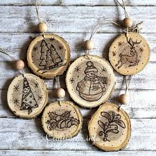 wood crafts for wood burned ornaments from