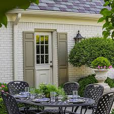 pretty polished garden in illinois traditional home