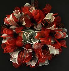 Christmas Decorations Wholesale Atlanta by Atlanta Falcons Wreaths Poly Mesh Wreath Atlanta Falcon Decor