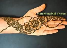 easy simple beautiful floral mehndi henna designs for matroj