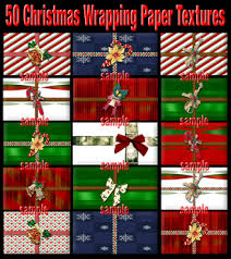 high christmas wrapping paper second marketplace 50 christmas wrapping paper textures high