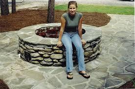 Rocks For Firepit Large Pit Rocks Design And Ideas