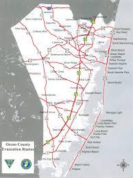 Nj Counties Map Emergency Preparation Borough Of Seaside Park Ocean County New