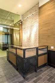 desk wooden reception desk chiavari dark wood salon reception