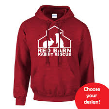 antique cherry red hoodie u2013 red barn rabbit rescue