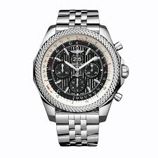breitling bentley back breitling bentley 6 75 a4436412 bc77 990a stainless steel watch