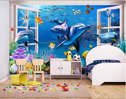 3d wallpaper custom photo mural outside the window of the dolphin 3d wallpaper custom photo mural outside the window of the dolphin background wall room painting 3d wall murals wallpaper for walls 3 d hd wallpapers in hd