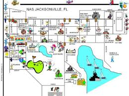Jacksonville Map Nas Jacksonville Map Nas Jacksonville Base Map Florida Usa
