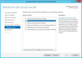 bureau a distance windows server 2012 remote desktop service
