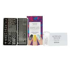 nail art stamping kit celebrations morgan taylor cosmoprof