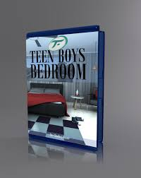 Teen Boys Bedroom Teen Boys Bedroom 3d Models Truform