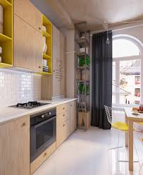 colorful apartment interior design with charming feature roohome