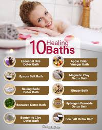 bath and body difference between taking a shower and taking a detox bath ideas processes and recipes