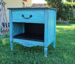turquoise nightstand rustic furniture rustic turquoise general