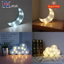 Bedroom Lights Uk Lovely Clouds Moon Light Led Light Wall L Children
