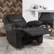 Leather Recliner Chair Uk Pu Leather Recliner Armchair Home Lounge Reclining Chair