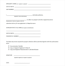 Authorization Letter Claim Passport Dfa Sle Of Authorization Letter Aimcoach Me