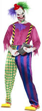 Killer Klowns Outer Space Halloween Costumes 5 Evil Clowns Killer Clown Costumes