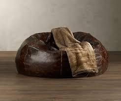 grand leather bean bag chair dudeiwantthat com