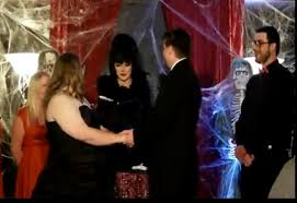 halloween wedding countdown choose a scary minister for your