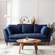 Modern Sofa Ideas Blue Sofa 75 In Modern Sofa Ideas With Blue Sofa