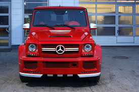 mercedes g wagon red interior topcar u0027s tuning package for the g class is way more than we asked for