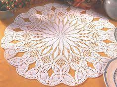 Crochet Table Cloth Pretty Star Doily With Diagram Tattoo Compass Dreamcatcher