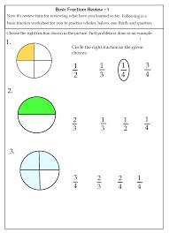 free fraction worksheets for grade 3 worksheets