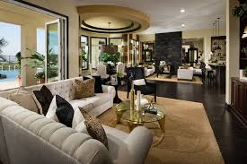 luxury open floor plans toll brothers the la morra s single story home design boasts an