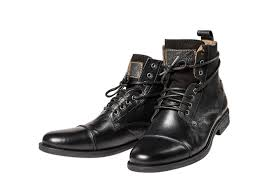 s leather boots sale levis s leather shoes emerson ankle boots black or brown ebay