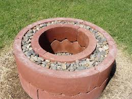 Fire Pit Ring With Grill by Diy Fire Pit Using Concrete Tree Rings Diy Projects For Everyone
