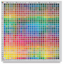 color selection magic palette artist s color selector and mixing guide blick art