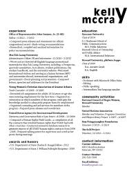Example Of A One Page Resume by Resume Gra617 Page 3