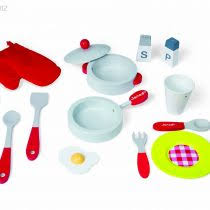 ustensiles cuisine enfants janod 4506538 cuisine jouet picnik duo tabouret