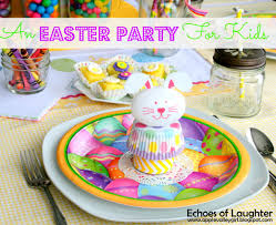 an easter party for kids echoes of laughter