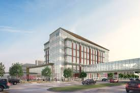 ford headquarters inside henry ford hospital breaks ground on cancer center near new center