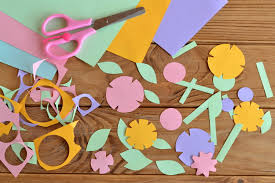 top cutting and sticking crafts for kids netmums