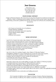 Resume For Civil Engineering Job by Professional Planning Engineer Templates To Showcase Your Talent