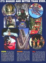 Six Flags Movies Theme Park Brochures Six Flags Great Adventure Theme Park Brochures